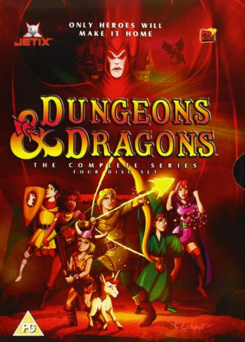 Dungeons and Dragons Box Set [Reino Unido] [DVD]