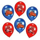 Disney Cars - Kinder Geburtstag Ballons Luftballons Lightning 6 Stück