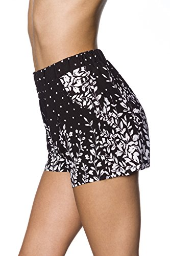 Hipstylers - Pantalon de sport - Femme Schwarz/Weiß