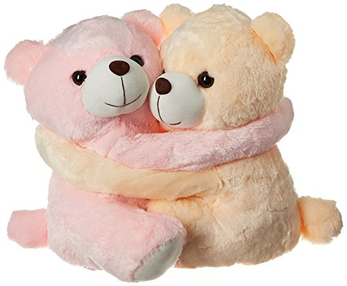 Dimpy Stuff Huggable Teddy, Pink/Cream (48cm)  available at amazon for Rs.719
