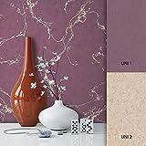 NEWROOM Tapete Lila Vliestapete Muster Muster schöne moderne und edle Design Optik , inklusive Tapezier Ratgeber