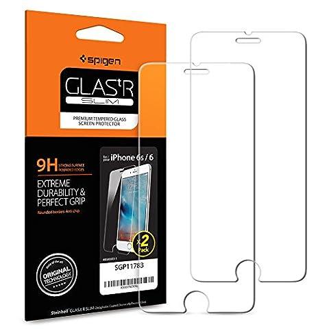Spigen ® **2 Pack** Protection écran iPhone 6s / 6,