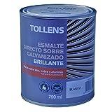 Tollens 8720 Esmalte Directo sobre Galvanizado, Blanco, 750 ml