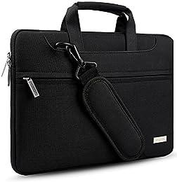 """Hseok Bolso Bandolera / Maletín para Portátli de 15,6 pulgadas, 14""""-15.6"""" Funda Protectora Laptop Sleeve Dura y Impermeable para 15"""" MacBook Pro 2016 / 14"""" - 15"""" ASUS Acer Lenovo Dell HP Toshiba"""