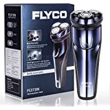 Flyco FS373IN 3D Rotary Electric Shaver Wet & Dry Rechargeable Electric Shaving For Men Razors With Pop-up Trimmer...