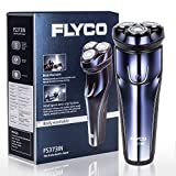 Flyco FS373IN 3D Rotary Electric Shaver Wet & Dry Rechargeable Electric Shaving for Men Razors with Pop-up Trimmer and LED Digital Display