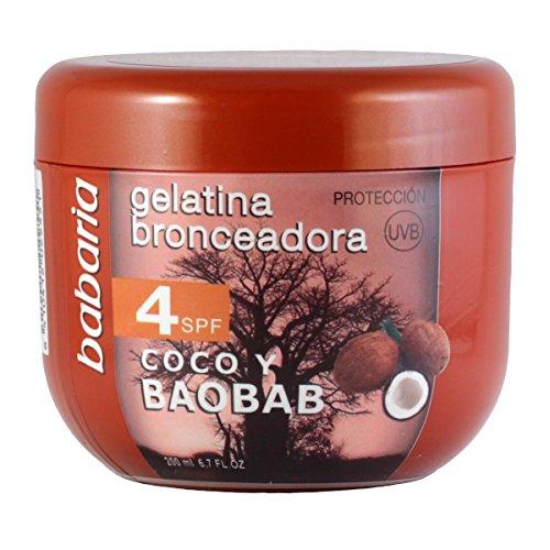babaria Bräunungscreme Cocos LSF 4, 200 ml