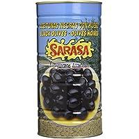 Sarasa Aceituna Negra Cacereña con Hueso - Paquete de 6 x 1500 gr - Total: 9000 gr