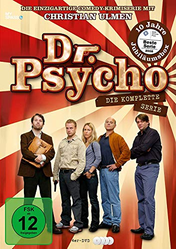 Dr.Psycho Box [4 DVDs]