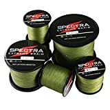 Times Spectra Extreme Braid Braided Fishing Line 6-300LB Test 100m-2000m Army Green