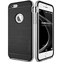 Cover iPhone 6/6S, VRS Design, [New High Pro Shield] [Argento