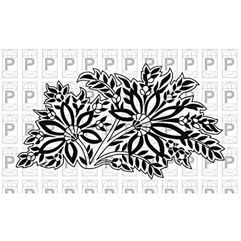 Paper Parachute Cling Rubber Stamps 4