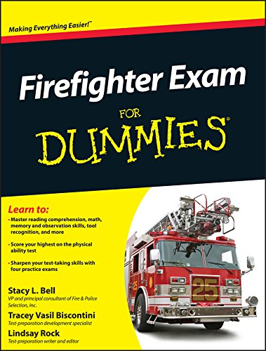 Firefighter Exam For Dummies (English Edition) (Kindle Fire Für Dummies)