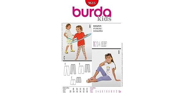 Burda Kinder Schnittmuster 3200366539 – kurz & lang Leggings ALter ...