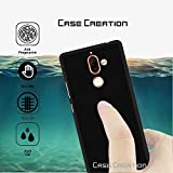 "Case Creation (TM) Ultra Thin 0.3mm Black Silicone Matte Finish Black Flexible Soft TPU Slim Back Case Cover For Nokia 7 Plus/Nokia 7+ 2018 6.0"" Inch(Black Soft Case)"