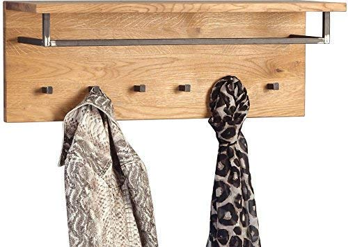 HomeTrends4You Bolton Garderobe Holz wildeiche 80 x 30 x 26 cm