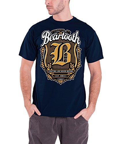 Beartooth - Top - Maniche corte - Uomo blu XX-Large