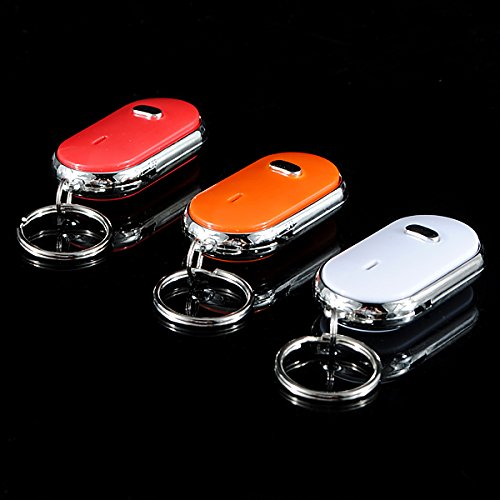 EsportsMJJ Whistle Key Finder Keychain Sound Led Mit Whistle Klatschen