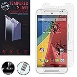 VComp-Shop® Hochwertige gehärtete Panzerglasfolie für Motorola Moto G 4G (2nd gen) - TRANSPARENT