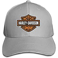 nf18g Harley Davidson logo Peaked Cap for MEN & Women Black