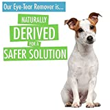 Natural Rapport Dog Eye Tear Stain Remover - Natural Formula For Dogs With White Fur - Reduces Stains, Eye Boogers & Gunk From Around Eyes & Mouth - Fragrance-Free - No Digestion Required - Ideal For Light Colored Coats - 8 fl oz (236 mL)