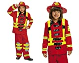My Other Me Me - Disfraz de bombero, 3-4 años (Viving Costumes 200909)