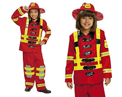 My Other Me Me - Disfraz de bombero, 3-4 años (Viving Costumes 200909)