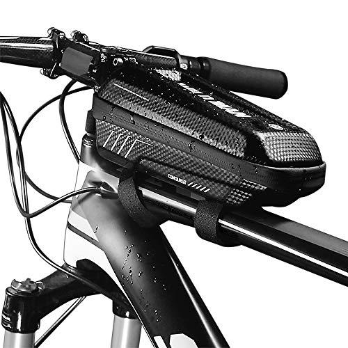Lixada Wild Man E5 PU Bolsa Cuadro Tubo Superior Bicicleta