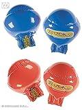 Guantes de boxeo azules inflables - Única