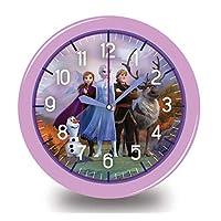 Disney Frozen 2 Kids Wall Clock 9 inch Battery Operated