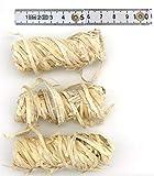SW Natura Bio Anzünder 2,5kg | ca. 120 Stück, Grillanzünder aus Holzwolle und Wachs mit extra Langer Brenndauer - Umweltfreundliche Feueranzünder für Grill, Kamin und Ofen