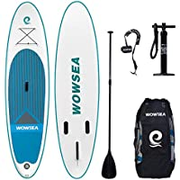 WOWSEA Tabla Inflatable Paddle para Surf, Paddle Board Hinchable con Tamaño de 320 * 81