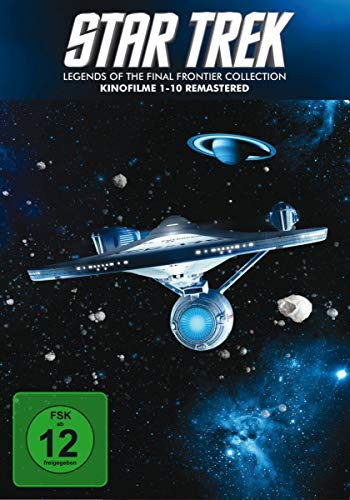Star Trek 1-10 - Box - Remastered [10 DVDs]