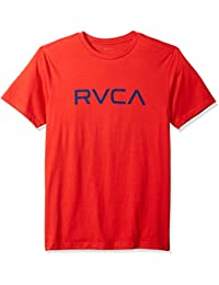RVCA Men's Big Short Sleeve Logo T-Shirt