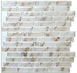 Vamos Fliesen Abziehen und Aufkleben Fliesenspiegel, 3D Selbstklebendes Wand Fliesen Für Küche & bathroom-10.62