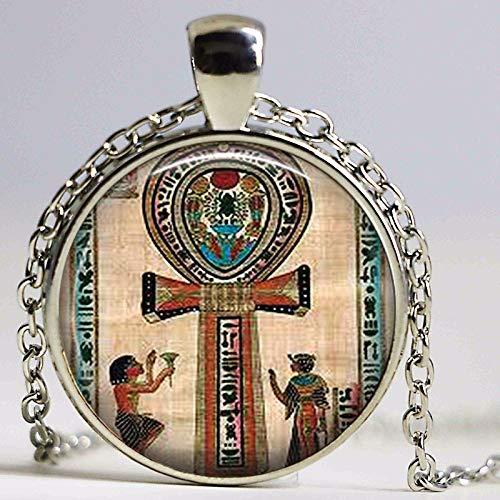Ankh Kolye Ankh Vintage Halskette, antikes ägyptisches
