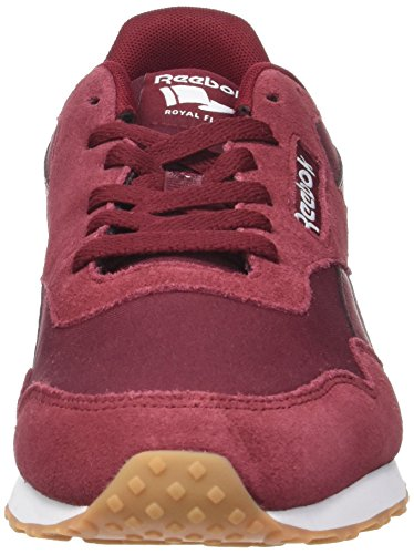 Reebok Herren Royal Ultra Sneaker, Black/Ash Grey/Flint Grey/Vital Blue Rot (Collegiate Burgundy/white/gum)
