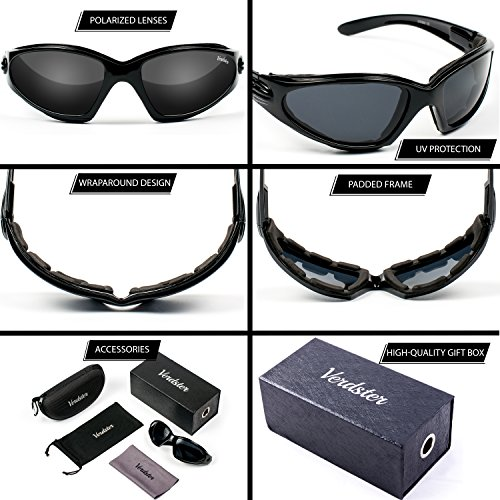 b98bc2eaee Today s deal VERDSTER TourDePro POLARISED Sunglasses For Men and Women –  Great for Driving ...