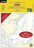 Sportbootkarten 12: Ostküste Schweden 02 (2012): Mem bis Stockholm mit Gotland und Södertäljekanal