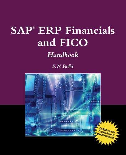 SAP?? ERP Financials And FICO Handbook (SAP Books) by S. N. Padhi (2010-01-04) par S. N. Padhi