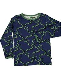 Smafolk de manga larga de la serpiente camiseta - marina de guerra