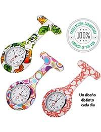 Tillmann's® Reloj Enfermera 3 unidades - Relojes De Enfermera - Reloj Bolsillo Enfermera - Relojes De Enfermeria