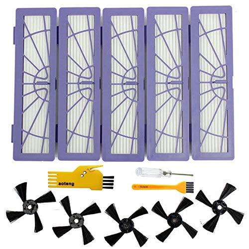 Accessoires Brosse principale pour aspirateur robot Neato Botvac 75e 75 80 85 pièces de rechange (Set 3)