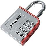 Am-Tech T1142 4-Digit Zinc Combination Padlock