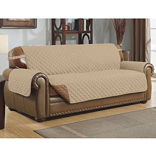 Zantec Sofa überwurf, Wasserdichtes staubdichtes Haustier Sofa Kissen Anti Rutsch Sofa Couch Abdeckungs Haustier Matte für Hunde Katzen -