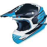 Scott 350 Pro Podium MX Enduro Motorrad / Bike Helm blau/hellblau 2015: Größe: XXL (63-64cm)