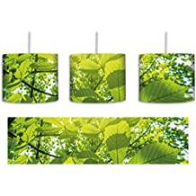 Grüne Blätter Inkl. Lampenfassung E27, Lampe Mit Motivdruck, Tolle  Deckenlampe, Hängelampe,