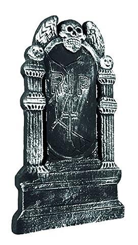 Boland 72019–Pierre tombale RIP Tête de Mort Volant Env. 50x 30cm