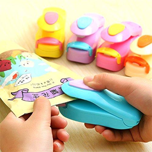 ABS Mini Portable Handheld Heat Sealing Machine Selladora de bolsa de plástico Herramienta de sello