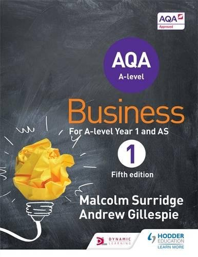 AQA Business for A Level 1 (Surridge & Gillespie)